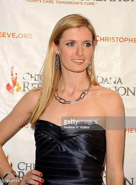 Alexandra Reeve Givens attends the Christopher Dana Reeve Foundation 19th Annual A Magical Evening Gala at the Marriott Marquis on November 9 2009 in...