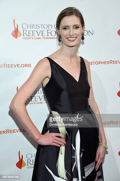 Alexandra Reeve Givens attends The Christopher Dana Reeve Foundation 25th Anniversary A Magical Evening Gala on November 19 2015 in New York City