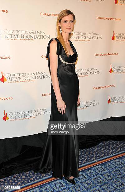 Alexandra Reeve Givens attends the Christopher Dana Reeve Foundation's A Magical Evening 20th Anniversary Gala at The New York Marriott Marquis on...