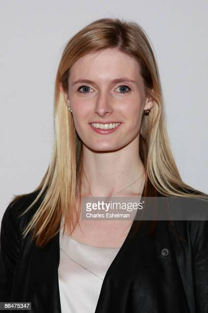 Alexandra Reeve Givens attends the Clark's Botanicals Cellular Lifting Serum launch at Saks Fifth Avenue on May 6 2009 in New York City