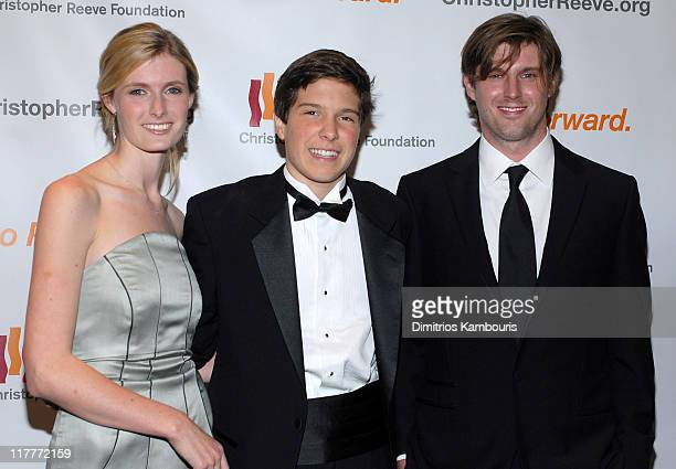 Alexandra Reeve Will Reeve and Matthew Reeve during Christopher Reeve Foundation Celebrates The Strength and Courage of Christopher Dana Reeve With A...