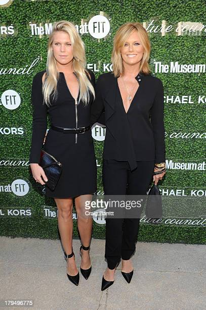 Alexandra Richards and Patti Hansen attend The Couture Council of The Museum at the Fashion Institute of Technology hosted luncheon honoring Michael...
