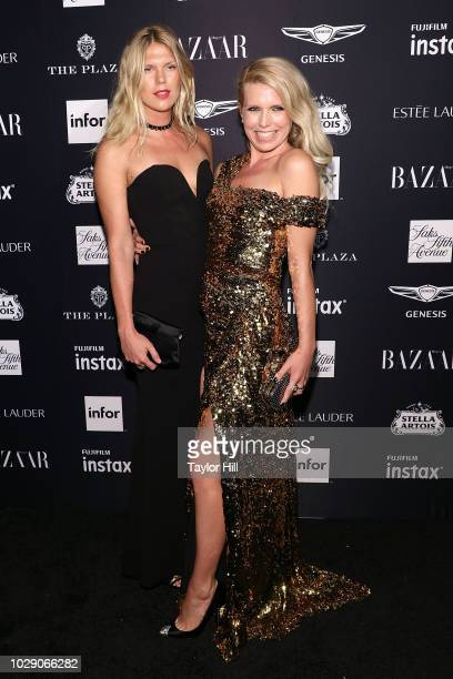 Alexandra Richards and Theodora Richards attend the 2018 Harper's BAZAAR ICONS Party at The Plaza Hotel on September 7 2018 in New York City