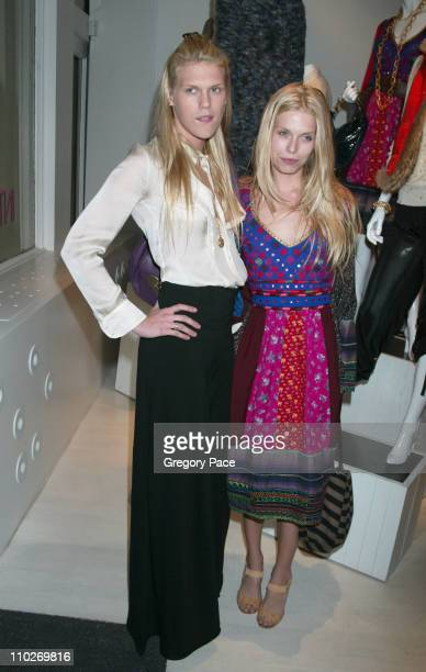 Alexandra Richards and Theodora Richards during Intermix Opens Flagship Store In SoHo at Intermix SoHo in New York City New York United States