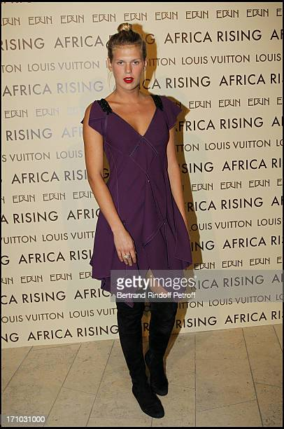 Alexandra Richards at Every Journey Began In Africa Party For The Exhibition Africa Rising And The Discovery Of The Collaboration Between Edun And...