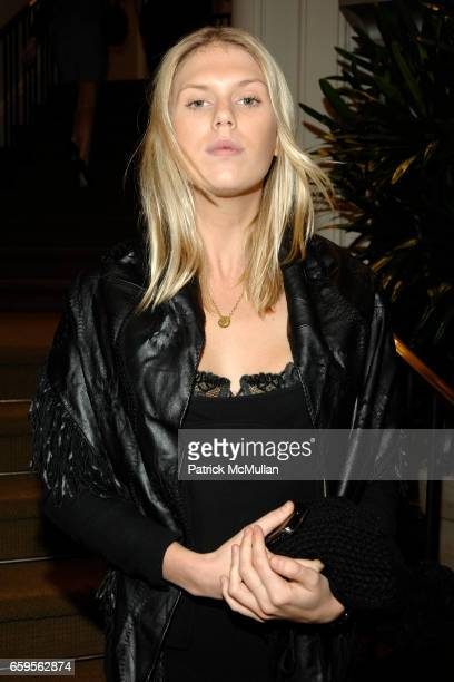 Alexandra Richards attends FACONNABLE VANITY FAIR Shopping Night for the Christopher Reeve Dana Reeve Foundation at Faconnable Store on October 27...