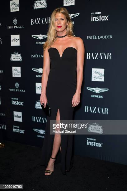 Alexandra Richards attends Harper's BAZAAR ICONS at The Plaza Hotel on September 7 2018 in New York City