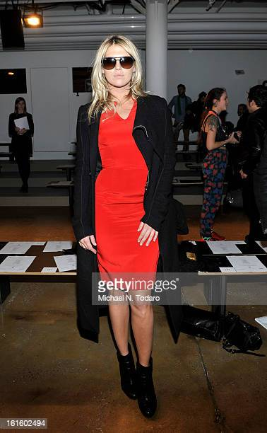 Alexandra Richards attends Sophie Theallet during Fall 2013 MADE Fashion Week at Milk Studios on February 12 2013 in New York City