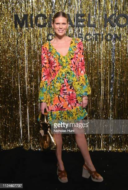 Alexandra Richards attends the Michael Kors Collection Fall 2019 Runway Show at Cipriani Wall Street on February 13 2019 in New York City