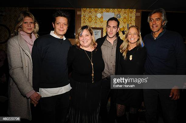 Alexandra Richards Michele Clarke and Nan Hauser attend The Ocean Campaign Launch Party at The Late Late on December 9 2014 in New York City