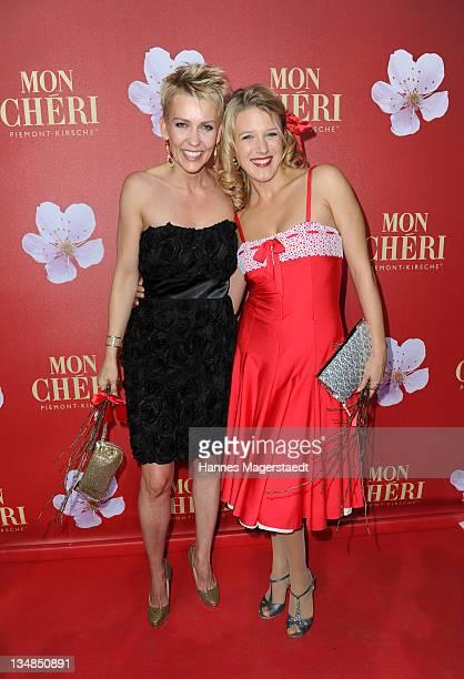 Alexandra Rietz and Eva-Maria Grein-von Friedl attend the 'Mon Cheri Barbara Day' Charityevent at Muellersches Volksbad on December 3, 2011 in...