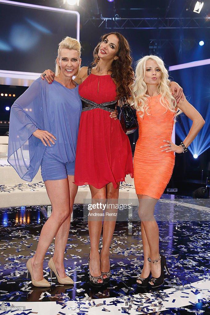 Alexandra Rietz, Janina Youssefian and Mia Julia attend ...  Alexandra Rietz...