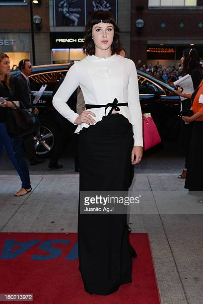 Alexandra Roach arrives for 'One Chance' Premiere during the 2013 Toronto International Film Festival at Winter Garden Theatre on September 9 2013 in...