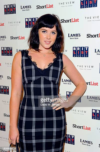Alexandra Roach at The View from The Shard on October 23 2013 in London England