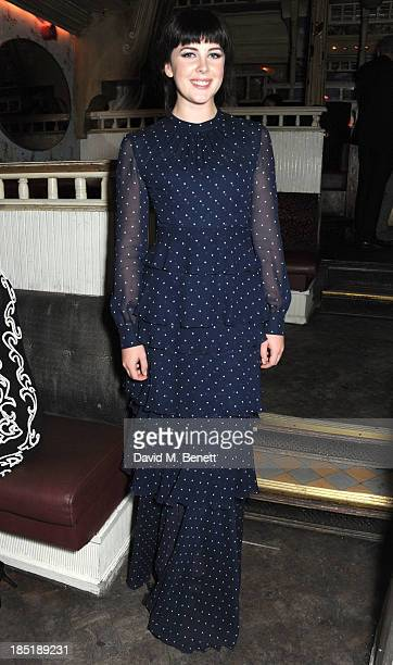 Alexandra Roach attends the after party for the 'One Chance' European Premiere at the Box Club Soho on October 17 2013 in London England