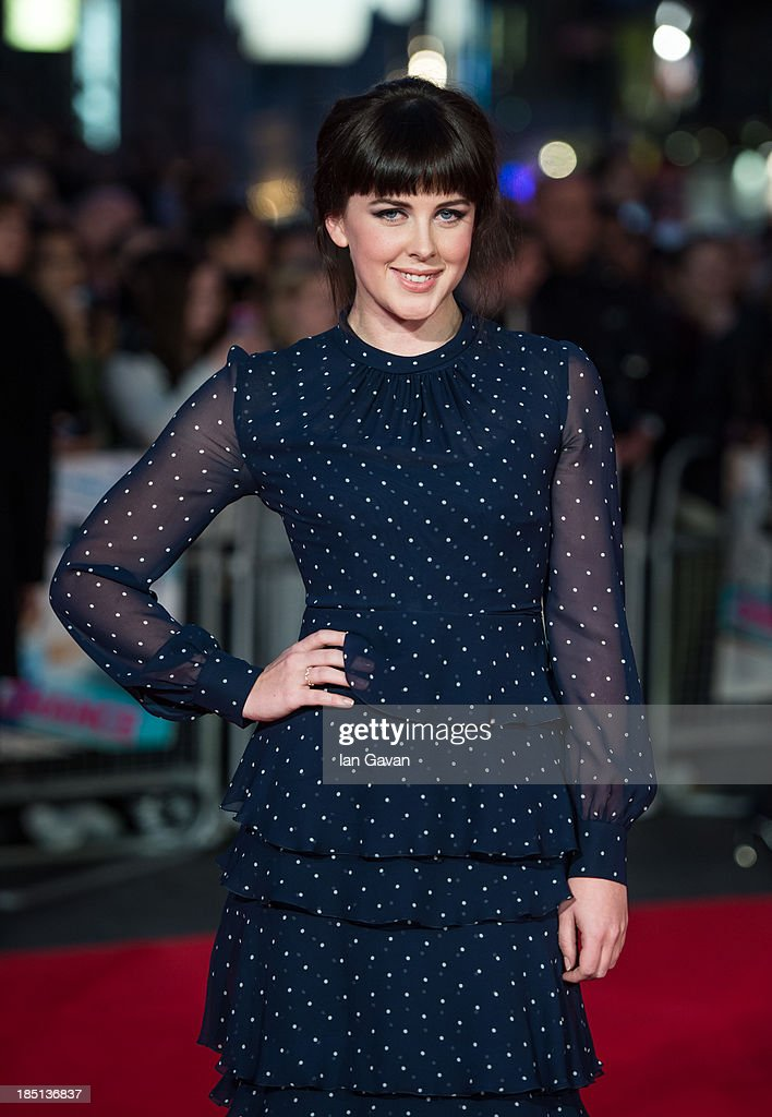 Alexandra Roach attends the European premiere of 'One Chance' at The Odeon Leicester Square on October 17, 2013 in London, England.