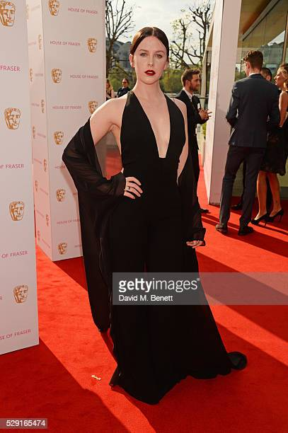 Alexandra Roach attends the House Of Fraser British Academy Television Awards 2016 at the Royal Festival Hall on May 8 2016 in London England