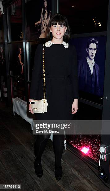 Alexandra Roach attends the InStyle Best of British Talent party in association with Lancome and Charles Worthington at Shoreditch House on January...