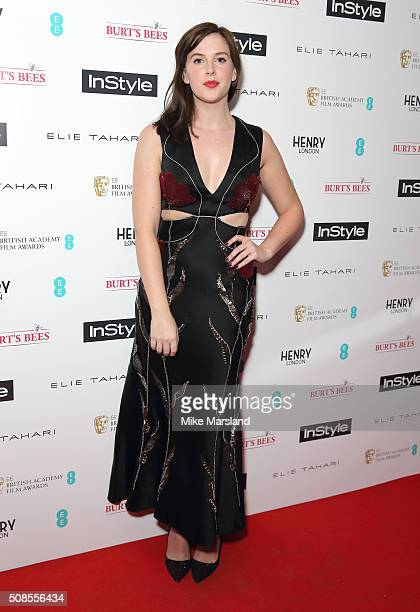 Alexandra Roach attends the InStyle EE Rising Star PreBAFTA Party at 100 Wardour Street on February 4 2016 in London England
