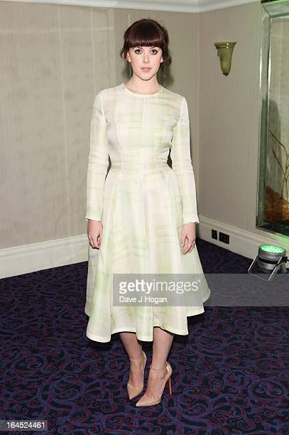 Alexandra Roach attends the Jameson Empire Awards 2013 at Grosvenor House Hotel on March 24 2013 in London England