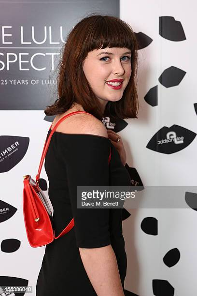 Alexandra Roach attends the launch of The Lulu Perspective To Celebrate 25 Years of Lulu Guinness on September 13 2014 in London United Kingdom