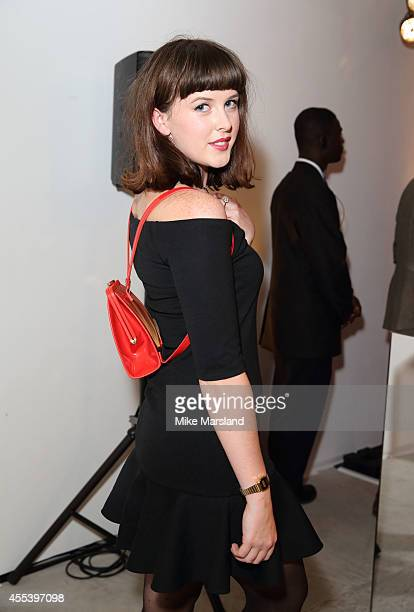 Alexandra Roach attends the Lulu Guinness The Lulu Perspective party during London Fashion Week Spring Summer 2015 at on September 13 2014 in London...