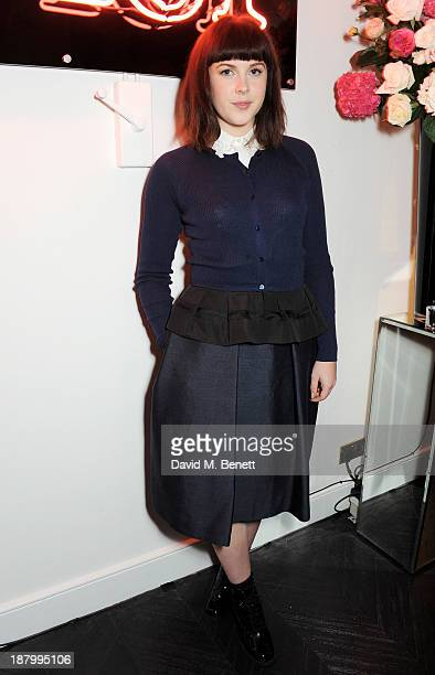 Alexandra Roach attends the opening of the Dior Beauty Boutique in Covent Garden on November 14 2013 in London England