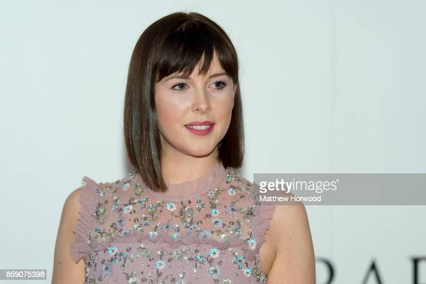 Alexandra Roach poses for a picture at the 26th British Academy Cymru Awards held at St David's Hall on October 8 2017 in Cardiff Wales