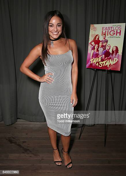 Alexandra Rodriguez attends Hulu's East Los High Season 4 Premiere at HYDE Sunset Kitchen Cocktails on July 6 2016 in West Hollywood California