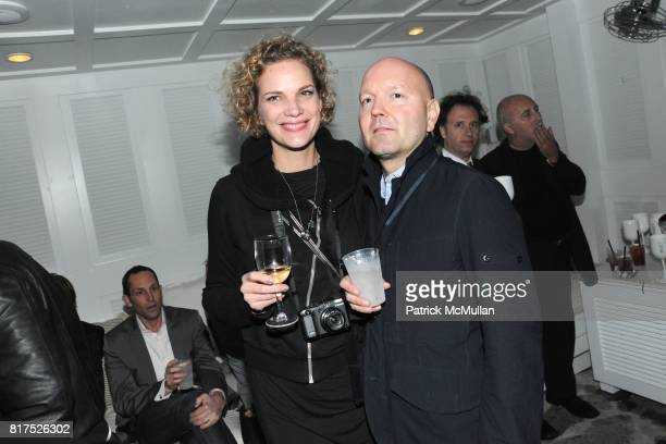 Alexandra Rohleder and Thomas Vasold attend MoMA PS1 / Interview Event Special Performance at The Water Salon on December 2 2010 in Miami Florida