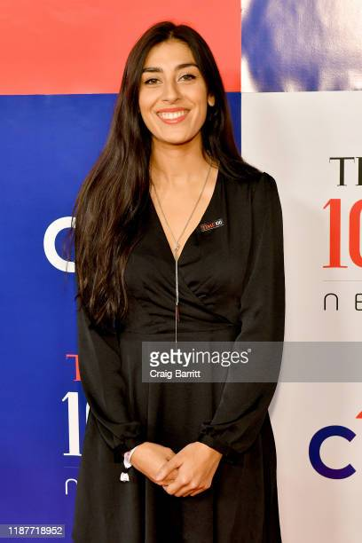 Alexandra Rojas attends TIME 100 Next 2019 at Pier 17 on November 14 2019 in New York City