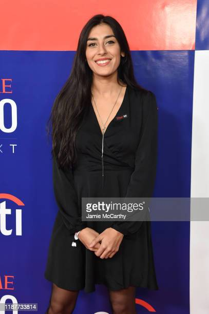 Alexandra Rojas attends Time 100 Next at Pier 17 on November 14 2019 in New York City