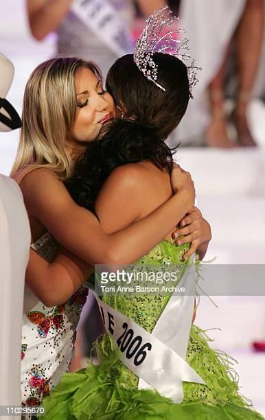 Alexandra Rosenfeld and Miss Picardie Rachel LegrainTrapani Miss France 2007