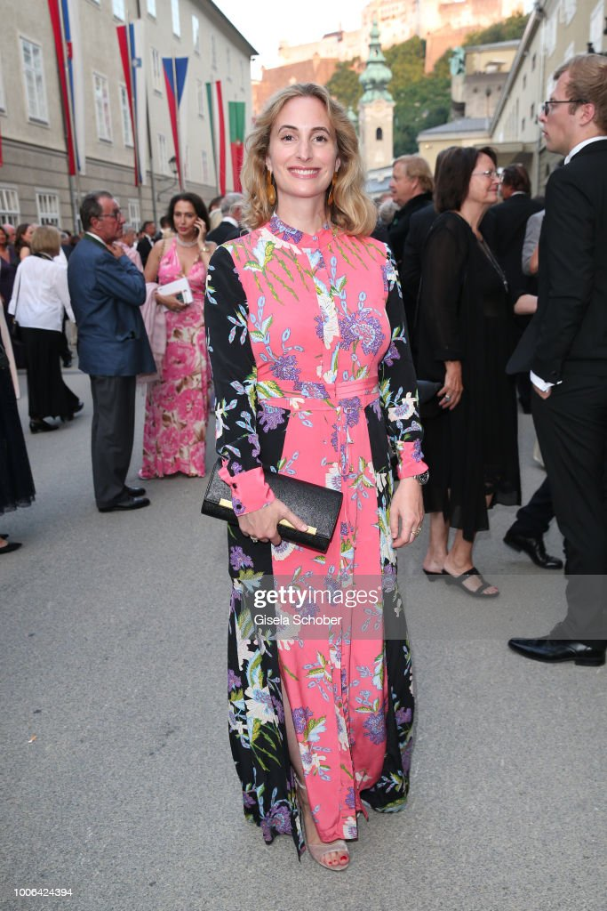 Alexandra Schiffer, daughter of Michaela May during the