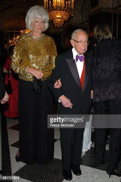 Alexandra Schlesinger and Arthur Schlesinger attend The 30th Anniversary New Yorker for New York Awards at The Waldorf Astoria on February 14 2005 in...