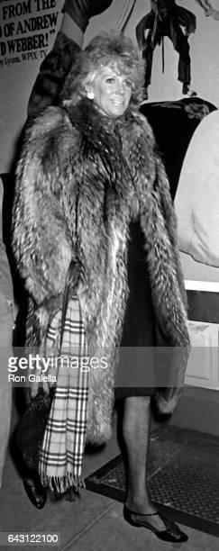 Alexandra Schlesinger attends PEN Literary Celebration Gala on December 14 1985 in New York City