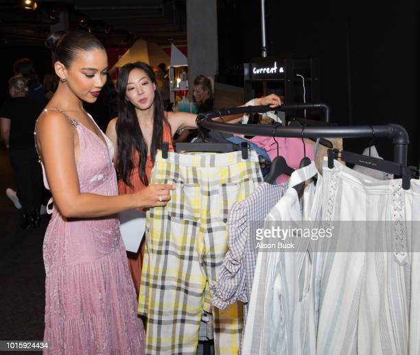 Alexandra Shipp attends Backstage Creations Celebrity Retreat At Teen Choice 2018 Day 2 at The Forum on August 12 2018 in Inglewood California