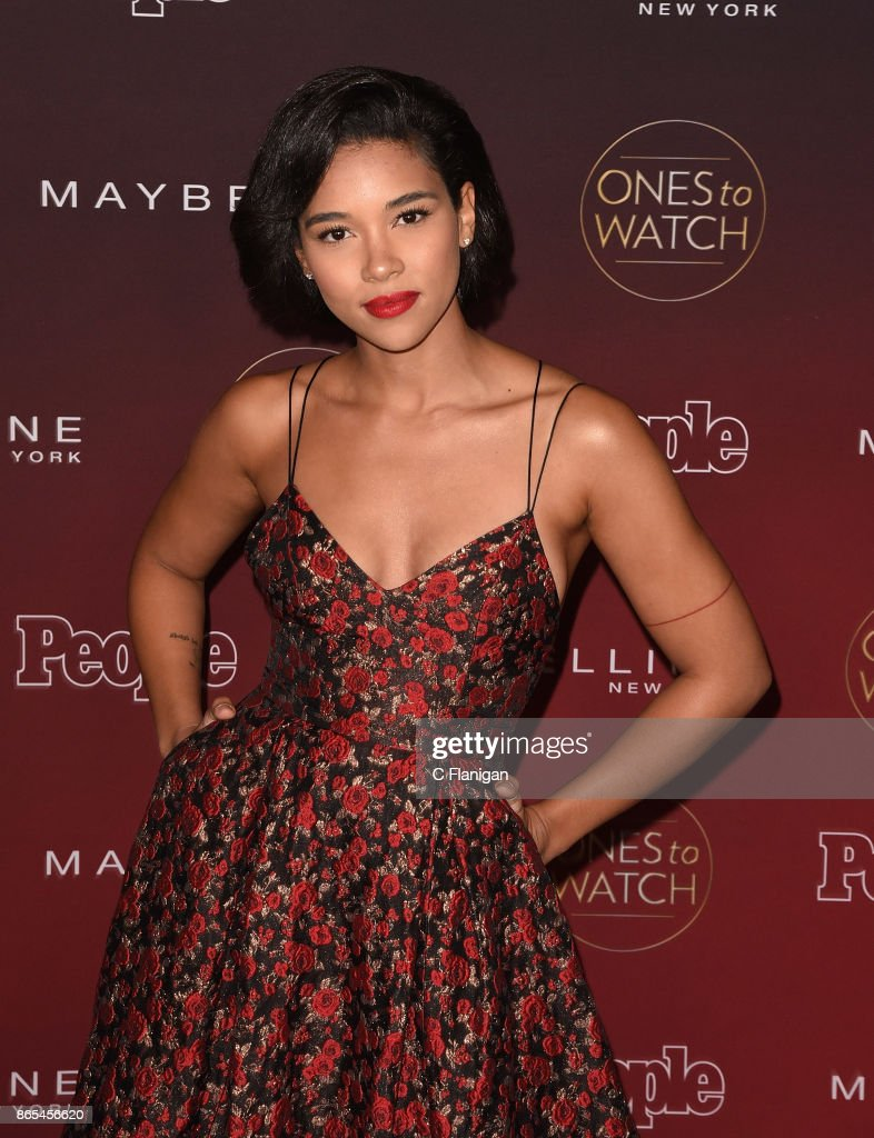 Alexandra Shipp attends People's 'Ones To Watch' at NeueHouse Hollywood on October 4, 2017 in Los Angeles, California.