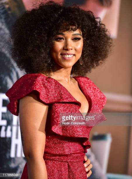"""Alexandra Shipp attends the premiere of Lionsgate's """"Jexi"""" at Fox Bruin Theatre on October 03, 2019 in Los Angeles, California."""