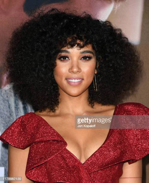 Alexandra Shipp attends the premiere of Lionsgate's Jexi at Fox Bruin Theatre on October 03 2019 in Los Angeles California