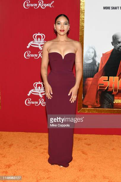 Alexandra Shipp attends the Shaft premiere at AMC Lincoln Square Theater on June 10 2019 in New York City