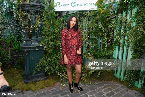 Alexandra Shipp attends the Welcome Dinner of the Christian Dior Couture S/S 2019 Cruise Collection on May 24 2018 in Paris France