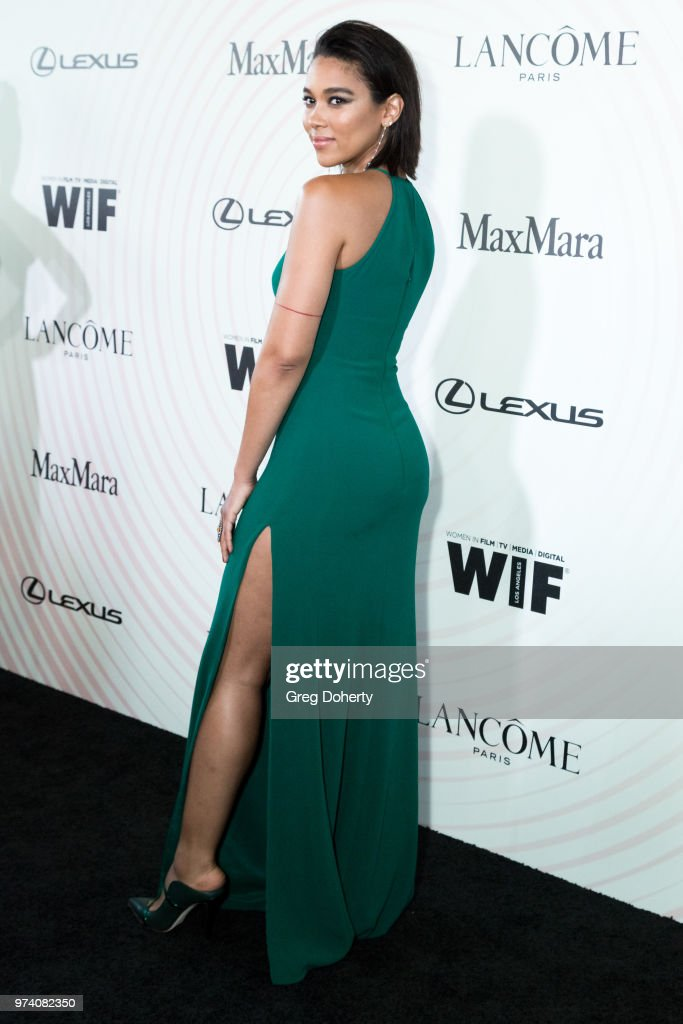 Alexandra Shipp attends Women In Film 2018 Crystal + Lucy Award at The Beverly Hilton Hotel on June 13, 2018 in Beverly Hills, California.