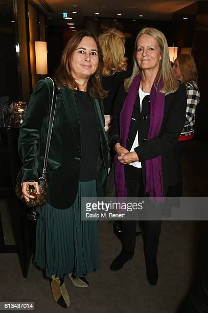 Alexandra Shulman and Lady Jane Wellesley attend the exclusive prerelease screening of Ewan McGregor's directorial debut American Pastoral at The...