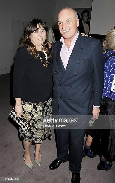 Alexandra Shulman and Nicholas Coleridge attend the launch of British Vogue editor Alexandra Shulman's debut novel 'Can We Still Be Friends' at...