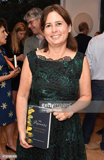 Alexandra Shulman attends a private party celebrating the launch of new novel The Parrots by Alexandra Shulman on July 2 2015 in London England