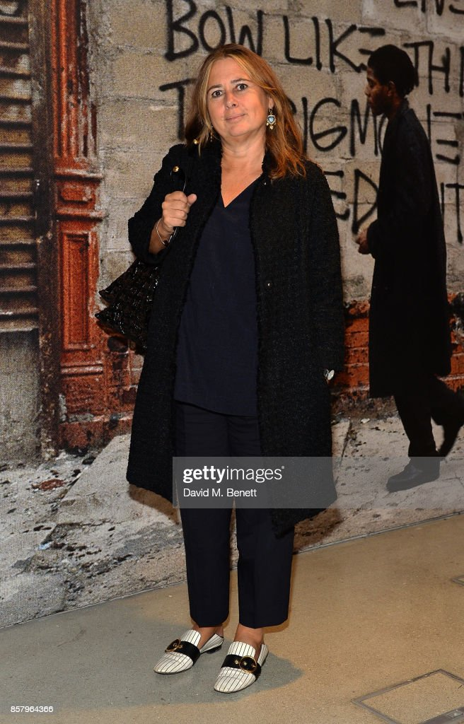 NET-A-PORTER Co-Host A Private View Of The Basquiat Exhibition At The Barbican In Partnership With Frieze