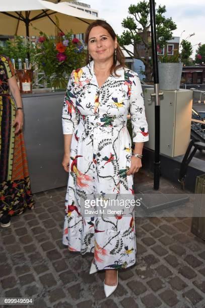 Alexandra Shulman attends British Vogue editor Alexandra Shulman's leaving party at Dock Kitchen on June 22 2017 in London England