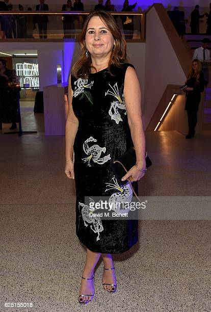 Alexandra Shulman attends the launch of the new Design Museum cohosted by Alexandra Shulman Sir Terence Conran Deyan Sudjic on November 22 2016 in...