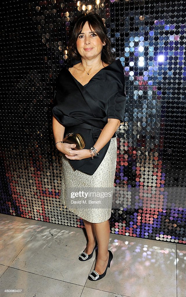 Alexandra Shulman attends the private view of Isabella Blow: Fashion Galore!, a new Somerset House exhibition, at Somerset House on November 19, 2013 in London, England.